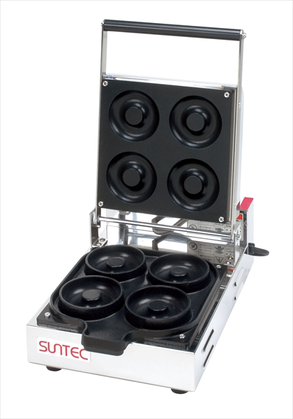 サンテックコーポレーション ベイクド ドーナツメーカー CA-4 6-0863-0101 GDC0101
