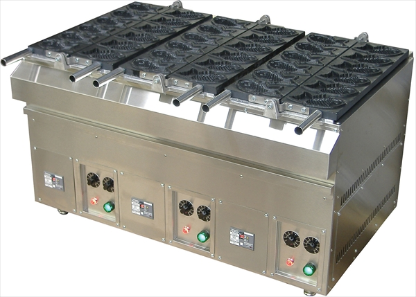 直送品■カジワラキッチンサプライ 電気式たい焼機 KTI-2(12ヶ取) GTI2902 [7-0932-0302]