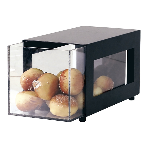 清水食器 ブレッドケース(1段) 0644-1 NBK0101 [7-1590-0401]