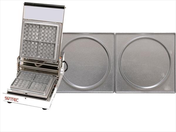 直送品■サンテックコーポレーション マルチベーカー MAX-1 1連式 パンケーキ GML0506 [7-0909-0206]