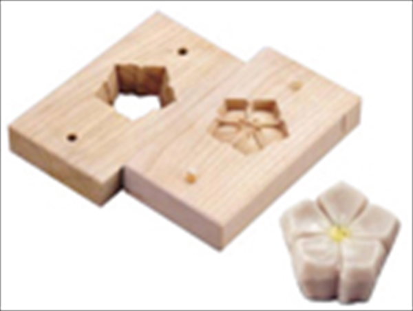 遠藤商事 手彫物相型(上生菓子用) キキョウ  6-1042-2301 WBT33