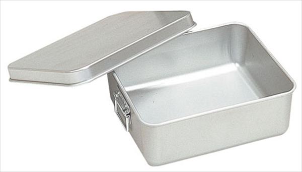 オオイ金属 アルマイト 保温・冷バットコンテナー (蓋付)001 ABTA6 [7-0148-1001]