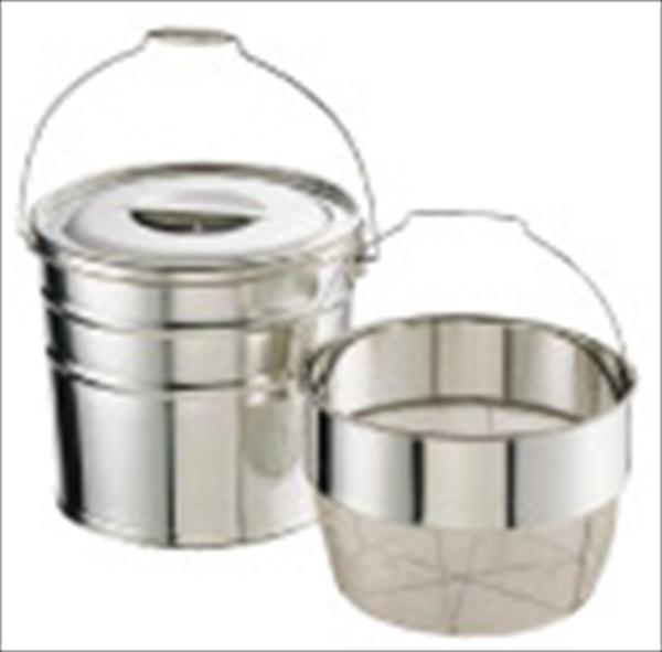 ミネックスメタル 18-8バケット洗いカゴタイプ 18L 荒目 6-0265-0706 JBK02183