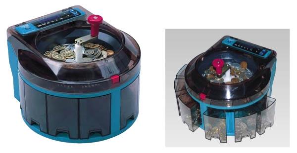 エンゲルス 小型硬貨選別機コインソーター SCS100 6-2380-0701 XKI10