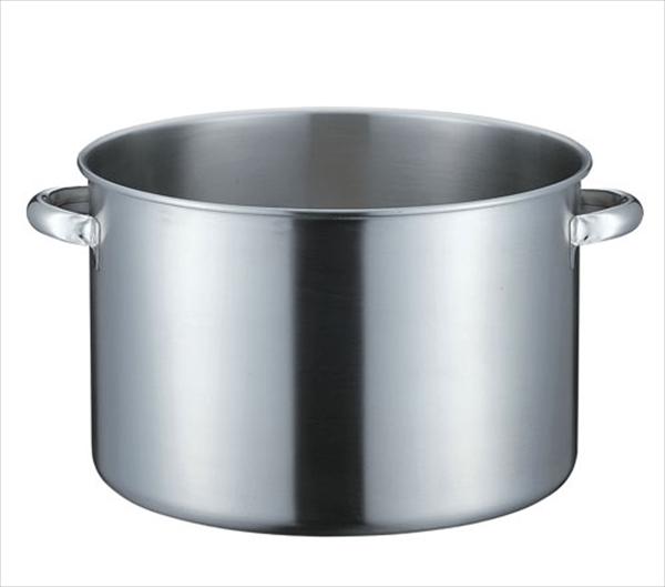 本間製作所 KO 19-0電磁対応半寸胴鍋(蓋無) 40 6-0018-0605 AHVD805