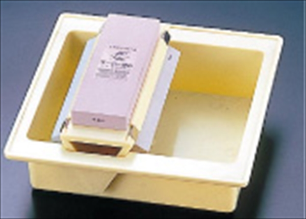 ナニワ研磨工業 スーパー砥石3点セット(研ぎ桶付き)  ATI96 [7-0332-1701]