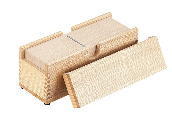 小柳産業 木製業務用かつ箱(タモ材) 小 6-0405-1002 BKT03003