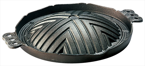 トキワ 鉄ジンギス鍋 穴無 新作製品、世界最高品質人気! 8-2089-0701 QGV14026 26 メーカー公式