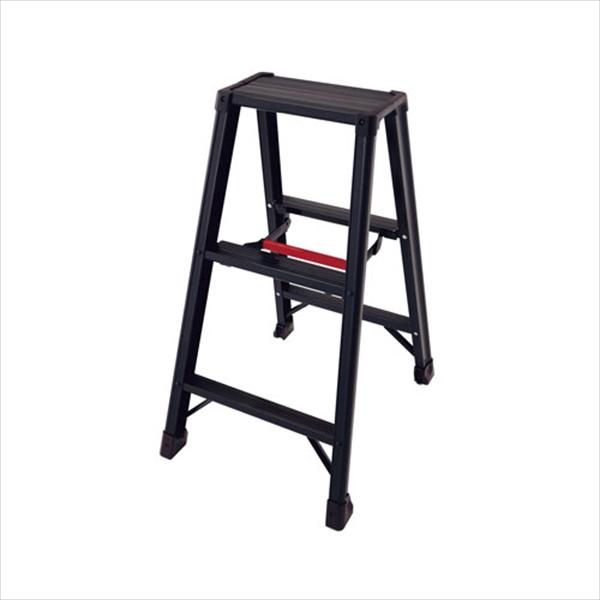 長谷川工業 アルミ 軽量 専用脚立 脚軽BLACK RZB1.0-06 2尺 6-1245-0101 XKY2401