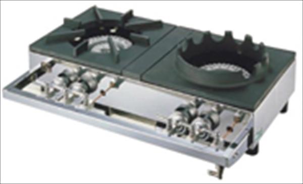 山岡金属工業 ガステーブルコンロ用兼用レンジ S-2228 LPガス 6-0638-0301 DKV2801