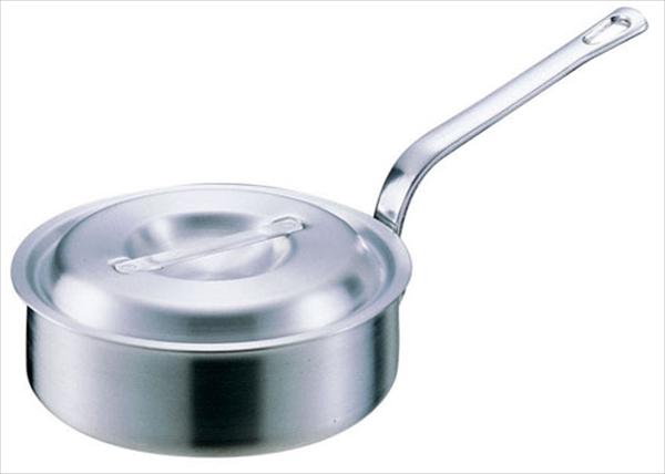 アカオアルミ アルミDON片手浅型鍋 36  6-0037-0608 AKT20036