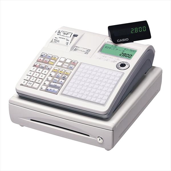 カシオ カシオ レジスター TK-2800-4S (4部門) ホワイト 6-2377-0101 XLZ4801