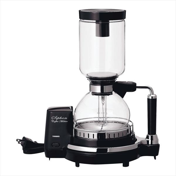 ツインバード サイフォン式コーヒーメーカー CM-D854BR FKCJ501 [7-0849-0701]