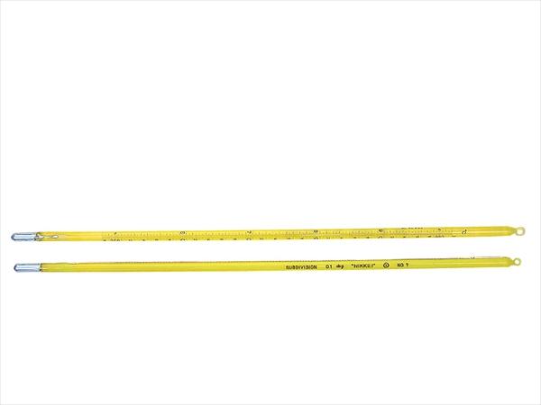 日本計量器工業 標準棒状温度計 JC-1156 6号 250~300℃ 6-0555-1807 BOVK707
