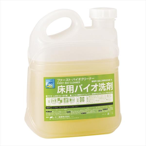 大一産業 床用バイオクリーナー 4L 6-1181-0402 JBI0102