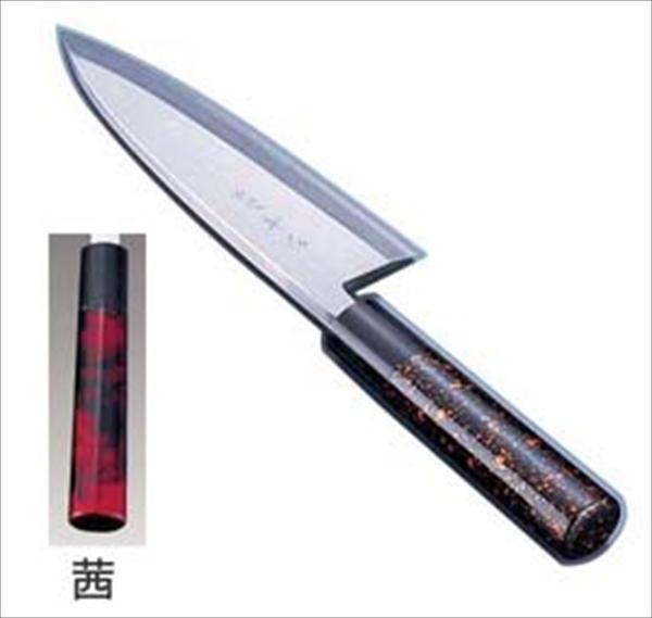 インテックカネキ 歌舞伎調和庖丁 忠舟 出刃 19.5cm 茜 6-0275-1012 ATD0212