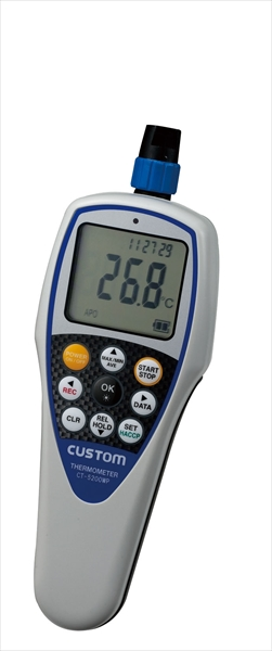 カスタム 防水型デジタル温度計 CT-5200WP (センサー別売) 6-0549-0101 BOVO701
