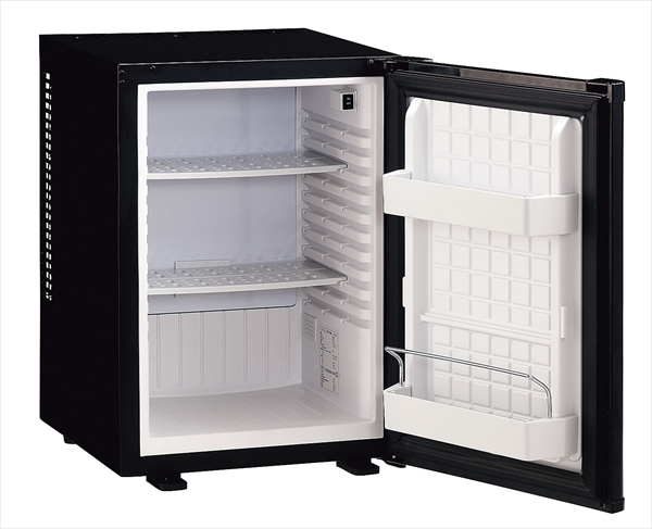 三ッ星貿易 エクセレンス 客室用冷蔵庫(ペルチェ式) ML-640B ブラック 6-0649-0301 ELIF601
