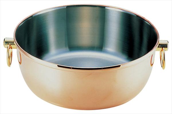 フジノス ロイヤル クラデックス しゃぶしゃぶ鍋 銅メッキ CQCW-240C 6-1924-0901 QSY28240