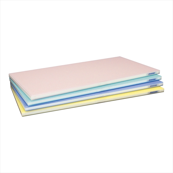 ポリエチレン 全面カラーかるがるまな板 600×300×H23mm 青 6-0335-0127 AMNK021