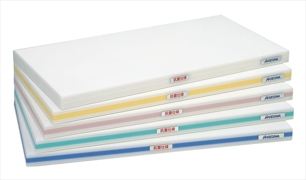ハセガワ 抗菌ポリエチレン・おとくまな板4層 1200×450×H35 青 6-0338-0460 AMN424125