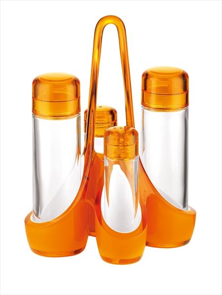 グッチーニ グッチーニオイル&ビネガーカスターセット 2488.0045 オレンジ RGTT705 [7-1792-0505]