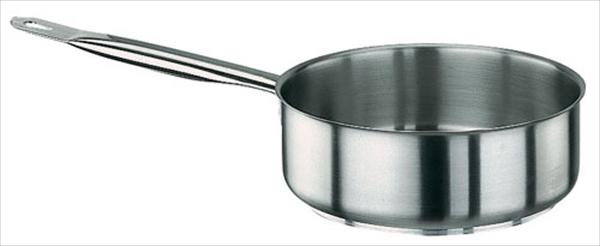 PADERNO パデルノ 18-10片手浅型鍋 (蓋無) 1008-28 6-0025-0505 AKTA028