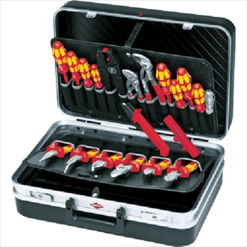 KNIPEX社 002120 ツールケース 20点セット オレンジB [ 2120 ]