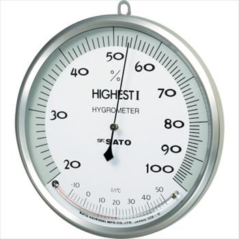 (株)佐藤計量器製作所 佐藤 温湿度計 ハイエスト1型 [ 754000 ]
