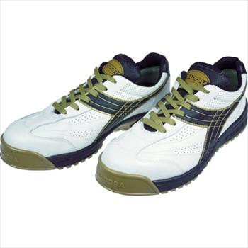 ドンケル(株) ディアドラ DIADORA 安全作業靴 ピーコック 白/黒 26.0cm [ PC12260 ]