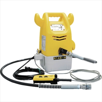 (株)泉精器製作所 泉 電動リモコン式油圧ポンプ オレンジB [ R14EH ]
