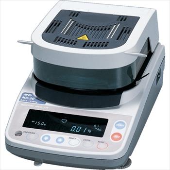 (株)エー・アンド・デイ A&D 加熱乾燥式水分計 最小質量表示0.001g オレンジB [ MX50 ]
