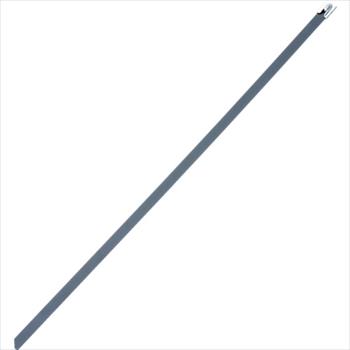 パンドウイットコーポレーション パンドウイット MLT フルコーティングステンレススチールバンド SUS316 黒 幅4.6mm 長さ681mm 100本入り MLTFC8S-CP316 [ MLTFC8SCP316 ]