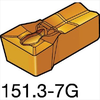 サンドビック(株)コロマントカンパニー SANDVIK サンドビック T-Max Q-カット 突切り・溝入れチップ 2135 [ N151.3300257G ]【 10個セット 】