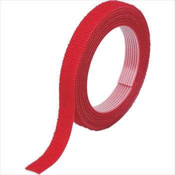 トラスコ中山(株) TRUSCO オレンジブック マジックバンド結束テープ 両面 幅40mmX長さ30m 赤 [ MKT40WR ]