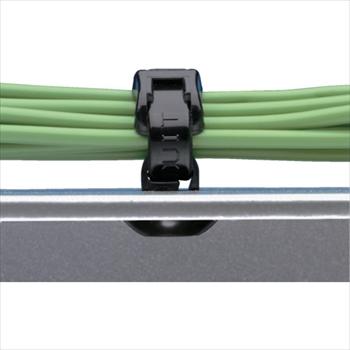 パンドウイットコーポレーション パンドウイット 押し込み型固定具 耐熱性黒 (1000個入) [ PBMSH25M30 ]