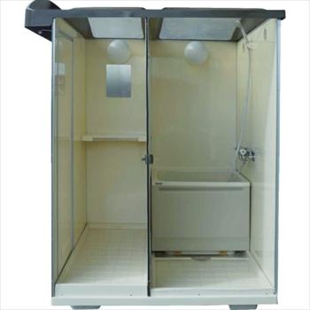 ★直送品・代引不可★日野興業(株) 日野 屋外用バスシャワー 浴槽付 [ NB1515G ]