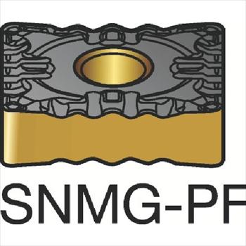 サンドビック(株)コロマントカンパニー サンドビック T-Max P 旋削用ネガ・チップ 1525 [ SNMG120408PF ]【 10個セット 】