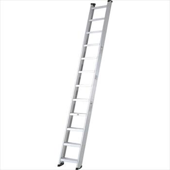 (株)ピカコーポレイション ピカ 両面使用型階段はしごSWJ型 幅広踏ざん 4m オレンジB [ SWJ40 ]