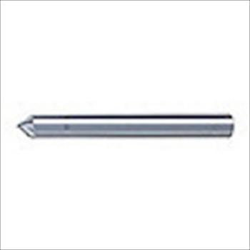ユニオンツール(株) ユニオンツール 超硬エンドミル テーパ φ1×刃長2.5X片角45° [ SV2060 ]