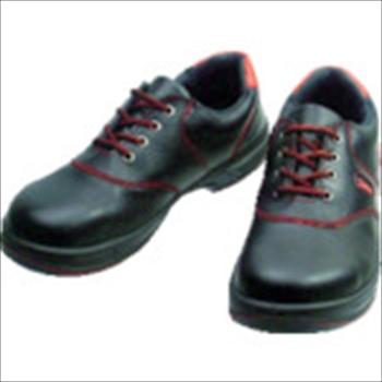 (株)シモン Simon 安全靴 短靴 SL11-R黒/赤 24.0cm [ SL11R24.0 ]