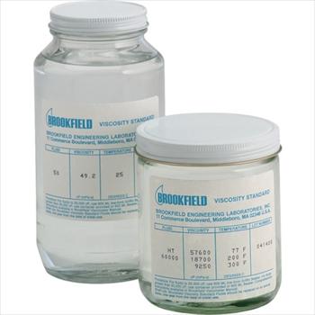 ブルックフィールド社 ブルックフィールド 一般用シリコン粘度標準液 50CP [ 50CPS ]