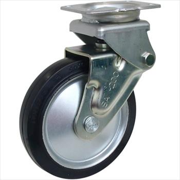 シシクSISIKUアドクライス(株) シシク 緩衝キャスター 固定 ゴム車輪 150径 [ SAKHO150W ]