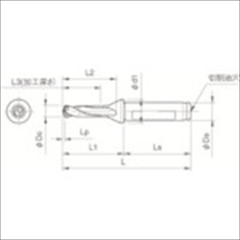 京セラ(株) KYOCERA  ドリル用ホルダ オレンジB [ SF16DRC125M3 ]