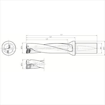 京セラ(株) KYOCERA  ドリル用ホルダ オレンジB [ S32DRX310M409 ]