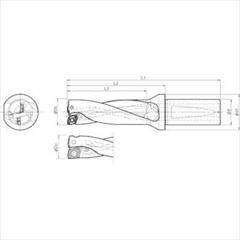 京セラ(株) 京セラ ドリル用ホルダ [ S25DRX200M306 ]