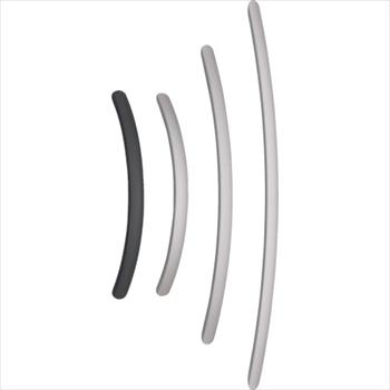 スガツネ工業(株) スガツネ工業 アルミ製弓形ハンドルSOR型600ブラック(100-010-964 [ SOR600BL ]