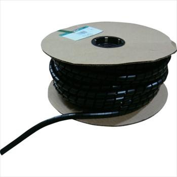 パンドウイットコーポレーション パンドウイット スパイラルラッピング 耐候性ナイロン66 黒 [ T75NC0 ]