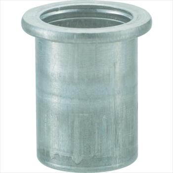 トラスコ中山(株) TRUSCO オレンジブック クリンプナット平頭アルミ 板厚1.5 M4X0.7  1000個入 [ TBN4M15AC ]