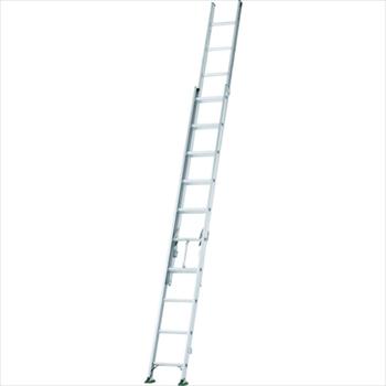 オレンジB アルインコ(株)住宅機器事業部 アルインコ 二連梯子 全長3.98m~6.05m 最大仕様質量130kg [ SX61D ]